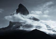 Monochromatic Alps by Jakub Polomski,