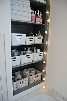 Bathroom closet storage elegant bathroom closet storage best bathroom organization storage images on bathroom cabinet storage . Home Organisation, Bathroom Organization, Organization Hacks, Organized Bathroom, Bathroom Ideas, Design Bathroom, Cleaning Cupboard Organisation, Ikea Bathroom Storage, Apartment Closet Organization