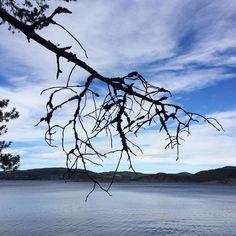 Himmel og hav/Sky an sea #dagensbild #blue #seawater #sky #visittrøndelag #skatval #instapic #outdoors #beautifulnature #outdoors by greannor