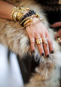 ARM CANDY AND RINGS, RINGS, RINGS!