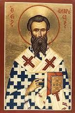 Image result for Saint Ambrose Doctor of the Church