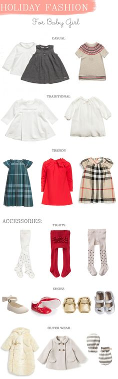 La Petite Peach_Baby Girl Holiday Wear