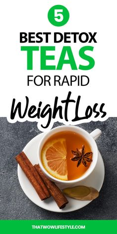 Are you trying to slim down and don't know what to drink? Check out the 8 best teas for weight loss that will definitely shrink you down. Weight Loss Detox, Weight Loss Drinks, Weight Loss Smoothies, Healthy Weight Loss, Detox Smoothies, Fast Weight Loss, Weight Lifting, Fat Burning Tea, Fat Burning Detox Drinks