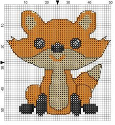 Free Fox Cross Stitch Pattern - Crafty Guild