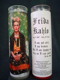 Frida Kahlo 1 Candle