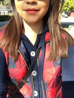 Checkered vest outfit