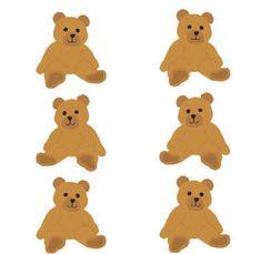 8 cute bear stickers, Mrs Grossman's brown bear, fun kids stickers Kids Stickers, Cute Stickers, Good Notes, Cute Bears, Planner, Polaroid, Neon Colors, Cool Kids, Overlays