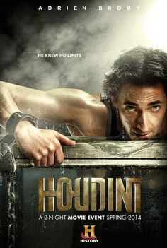 Houdini Language : English /Subtitles: HC WHEN NEEDED  Genre : Biography , Drama  Duration :  Size : 1.38 GB  Quality : HDRiP  Release Year : 2014  Submit By : Napster  Release NameNew : Houdini 2014 HDRip H264-LKRG  Description : Follow the man behind the magic as he finds fame, engages in espionage, battles spiritualists and encounters the greatest names of the era, from U.S. presidents to Sir Arthur Conan Doyle and Grigori Rasputin.