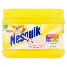 300g Nesquick Strawberry Nesquick, Happy Thoughts, Strawberry, Milk, Strawberry Fruit, Strawberries, Strawberry Plant