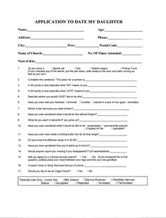 Open Call The Official Boyfriend Application Form  Boyfriend