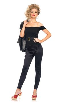 Sexy Grease Bad Sandy Adult Halloween Costume | eBay