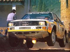 Walter Roehrl – Christian Geistdorfer- Port Wine Rally of Portugal 1985 (Audi Quattro Sport) - Cars and motor Audi Sport, Sport Cars, Race Cars, Audi Quattro, Allroad Audi, Audi Motorsport, Rally Raid, Flying Car, Port Wine