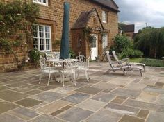 Reclaimed Mixed Grade Yorkstone Paving Supplied Direct From Yorkstone Sale - Our mixed grade yorkstone paving consists of a mixture of light buff to dark grey colours with a partially weather look on the face of the flag, generally the thickness of the flags range from 1 to 4 inches. With these flags you get a mixture of slightly riven and worn smooth faces making them ideal for patios, driveways and interior or exterior paving. This type of reclaimed yorkstone paving will add immediate age…