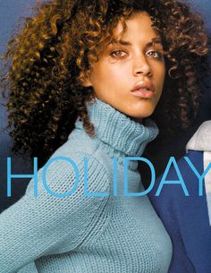 Noemie Lenoir for GAP. Love the curly spirals and coils.