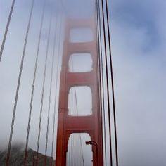 Wieża na moście Golden Gate, San Francisco Golden Gate Bridge, San Francisco, Usa, Travel, Viajes, Destinations, Traveling, Trips, U.s. States