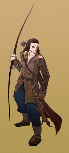 I love this drawing of bard.