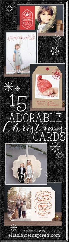 I love these gorgeous Christmas cards!