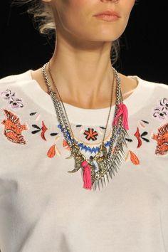 Rebecca Minkoff SS14. Jewellery