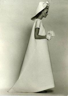 Wedding gown by Balenciaga