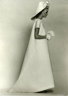 Wedding gown by Balenciaga