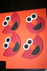 Sesame Street Party Craft