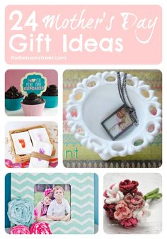 Tons of fun Mother's Day Gift Ideas you can make yourself from thebensonstreet.com #mothersday #giftideas #DIY