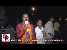 Chandra Bandar speaking to Desiplaza TV at DFW Bathukamma Sambaralu - 2012