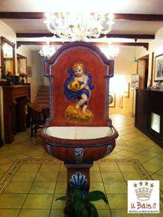 The lobby at The Hotel UBais  Scilla (RC) ITALY WWW.UBAIS.IT