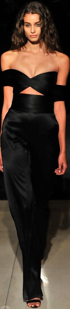 Brandon Maxwell Spring 2016 RTW women fashion outfit clothing style apparel @roressclothes closet ideas
