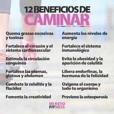12 Beneficios de #CAMINAR