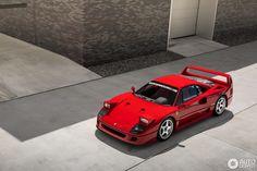Ferrari F40, Lamborghini Gallardo, Maserati, Car Man Cave, Ferrari World, Pretty Cars, Exotic Sports Cars, Top Cars, Car Ford