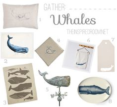 For Colleen. cute whale decor and fun gift ideas! Whale Decor, Cute Whales, Plate Art, Beach Cottage Decor, Design Blogs, Homemaking, Room Inspiration, Decoration, Decorating Your Home
