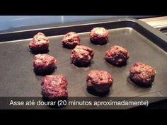 Bolinho de carne fácil - Cozinha da Robs
