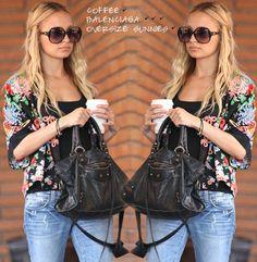 Nicole Richie style, Balenciaga bag, I like her ...