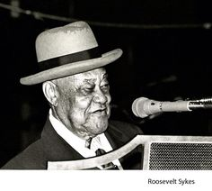 """Roosevelt Sykes (January 1906 – July was an American blues musician, also known as """"The Honeydripper"""". Rhythm And Blues, Blues Music, In Memorian, Roosevelt, July 17, January, Golden Age, Rock N Roll, My Music"""