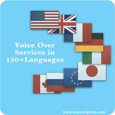 Voiceover Services in 150+ Languages