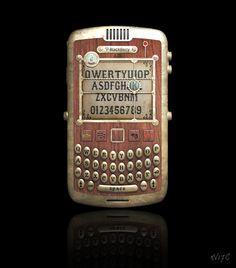 Steampunk Blackberry