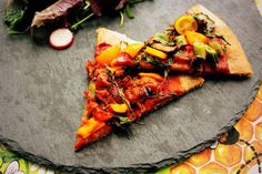 Homemade Pizza with Spelt Base Vegan   Vegetarian   Real Food   Meat Free. Delicious plant-based dinner.
