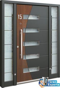 Haustüre AGE 1297 aus Aluminium jetzt bei http://www.tueren-experte.de konfigurieren und bestellen.