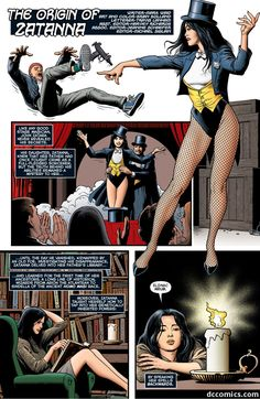 The Origin of Zatanna(Part1)