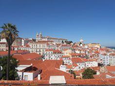 Miradouro de Santa Luzia em Lisboa. Encantada!!!!!