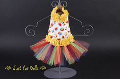 Summer Beach Ball Party Tutu Dress by JustForBella on Etsy, $80.00