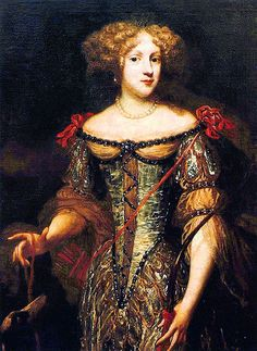 Elizabeth Charlotte, Princess Palatine. The second wife of Philippe.