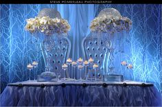 Amazing decor by RL Designs Inc. & beautifully captured by Steve Pomperleau Photography. http://www.weddingshows.com