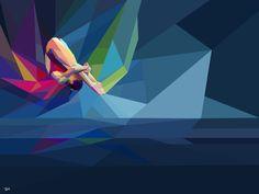 Yahoo! 2012 Games Coverage : มหกรรมโอลิมปิกในงานกราฟฟิก - PORTFOLIOS*NET