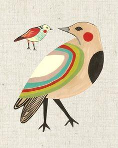 Image of Little Friends Rainbow Bird