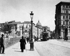 Ponte Garibaldi anno 1906