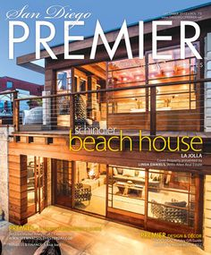 Check out one of our homes featured on the cover and in a spread in San Diego Premier Magazine. For more details on this architectural masterpiece, visit: http://www.thedanielsgroup.com/property/architectural-masterpiece/