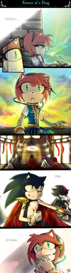 Return of a King- sonamy by sonamy-25.deviantart.com on @deviantART
