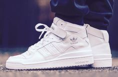 adidas Originals Forum Mid: White